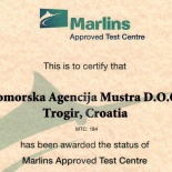 English MARLINS Approved Test Centre