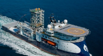 Offshore ship MPSV - multipurpose suport vessel
